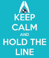 Mass Effect keep calm and hold the line video game