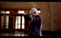 joker batman the dark knight bank robbery