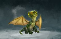 little dragon dragonling fantasy
