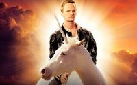 neil patrick harris on a unicorn