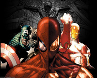 spiderman captain america iron man marvel