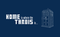 doctor who bbc home is where the tardis is