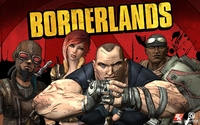 borderlands xbox 360 video game