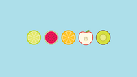 fruit minimalist