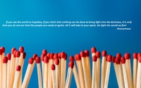matches fire quote