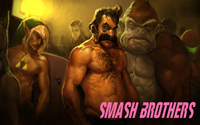 Smash Brothers video game