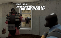Team Fortress english motherfucker do you speak it video game